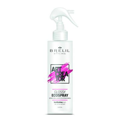Спрей без газу для сяйва волосся BRELIL Glossy Ecospray Art Creator (79322)
