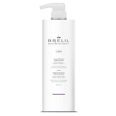 Шампунь для неслухняного волосся BRELIL Smoothing Shampoo Liss 1000 ml (76826)