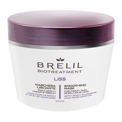 Маска для неслухняного волосся BRELIL Smoothing Mask Liss 220 ml (76857)
