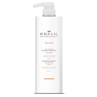 Шампунь восстанавливающий Brelil Restructuring Shampoo Repair 1000 ml (76666)