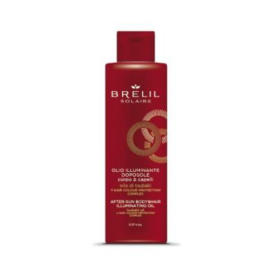 Масло для волосся і тіла після перебування на сонці Brelil After-Sun Oil 150ml Solaire (77298)