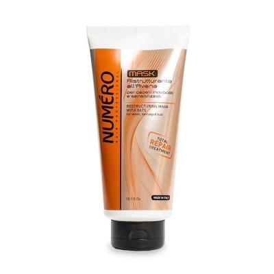 Восстанавливающая маска для волос с экстрактом овса Brelil Numero 300 ml (52882)