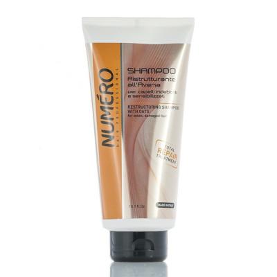 Шампунь для волосся з екстрактом вівса Brelil Numero 300 ml (52905)