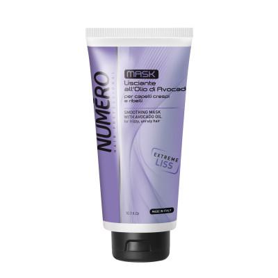 Маска для розгладження волосся Brelil Numero Smoothings 300 ml (75164)